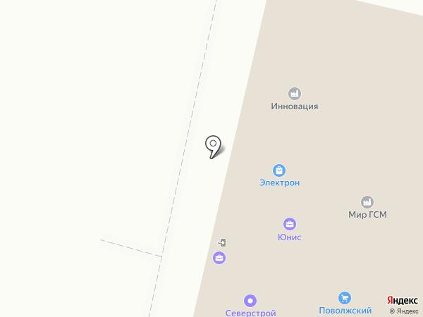 Сар-Бетон на карте