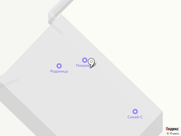 Каменный двор на карте