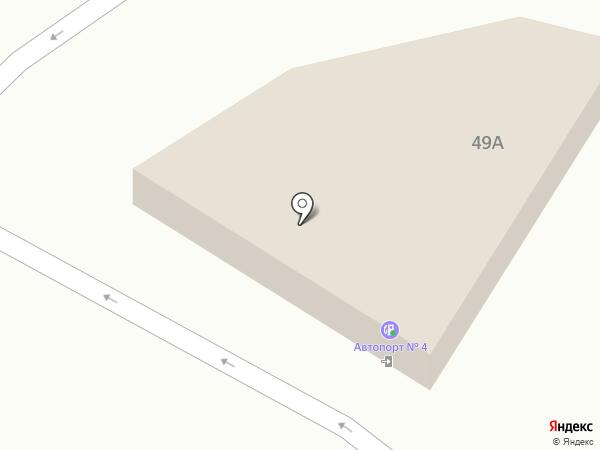 АЗС Промнефть на карте