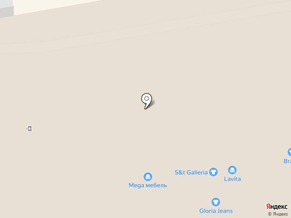 Сороконожка на карте