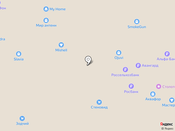 СтеноВид на карте
