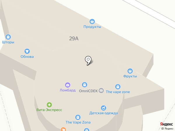 Чулочно-трикотажная фабрика на карте
