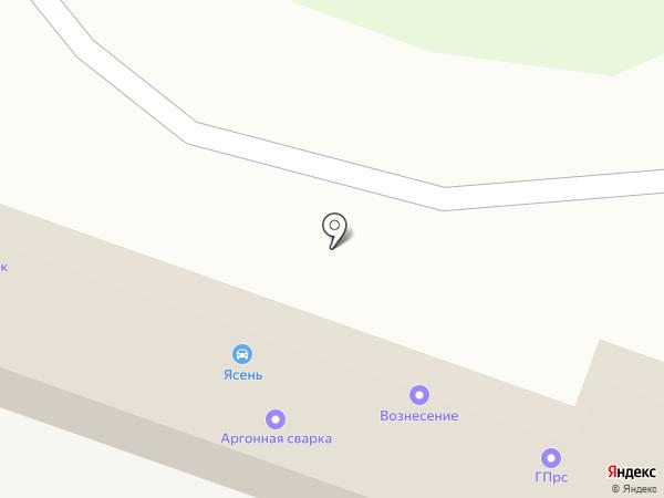 Буксиръ на карте