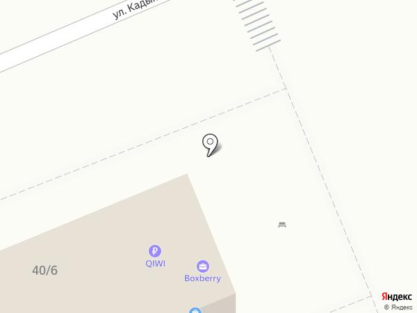 PAULA на карте