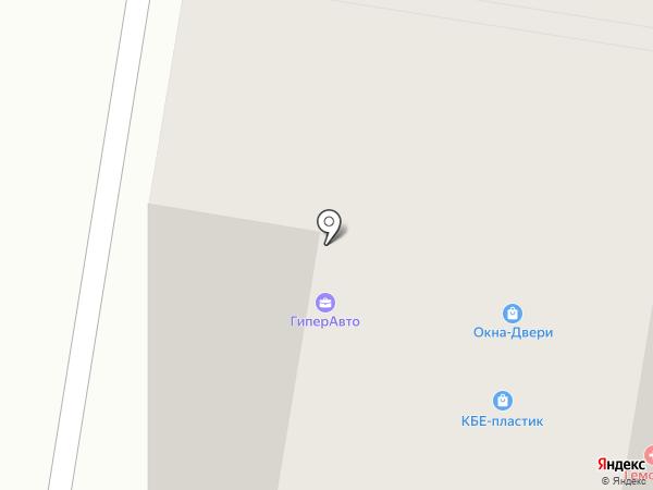 Санар на карте
