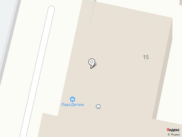 Жигули на карте
