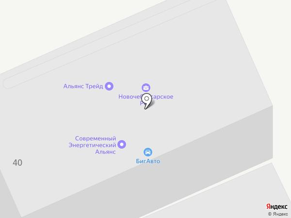 Авангард-Древ на карте