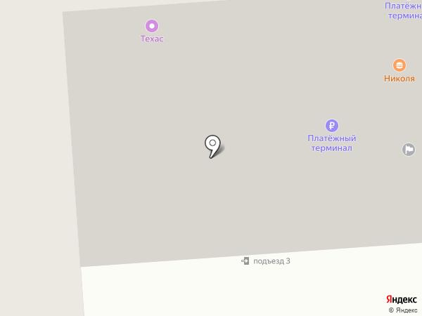 Юникс на карте