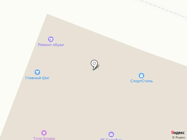 Турт на карте