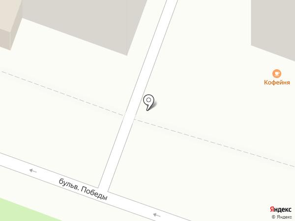 Кофейный ряд на карте