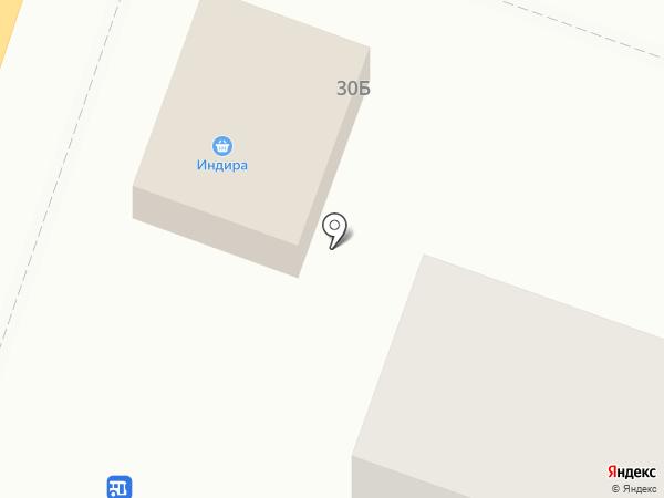 Индира на карте
