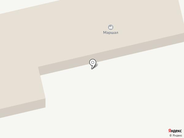 МАРШАЛ на карте