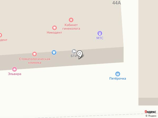 DiZa на карте