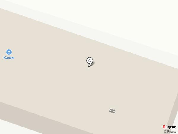 КАПЛЯ на карте