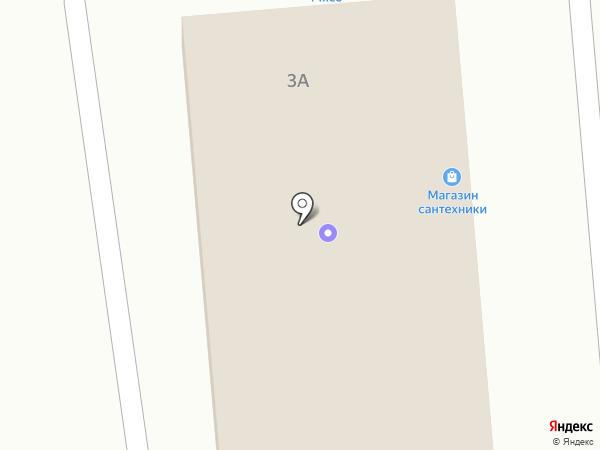 Продуктовый магазин на Камызякской на карте