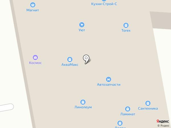 Аквамастер на карте