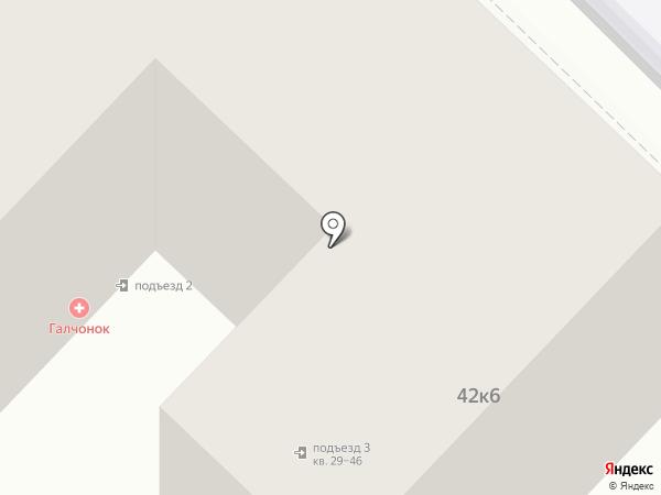 Строительная фирма на карте