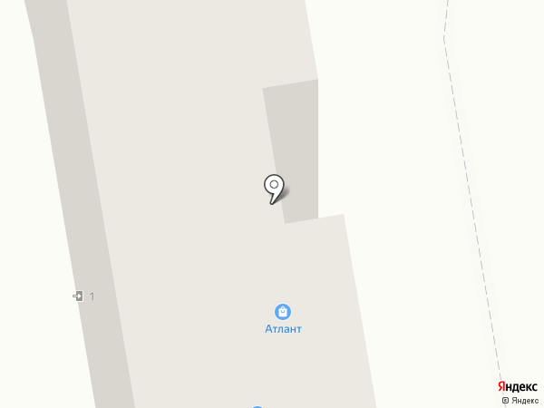 Красный куб на карте