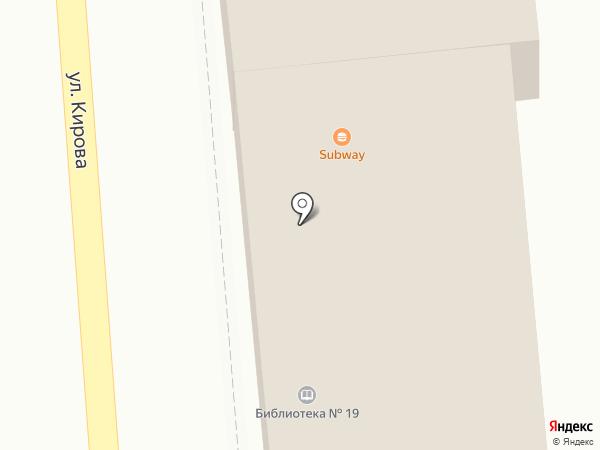Магазин низких цен на карте