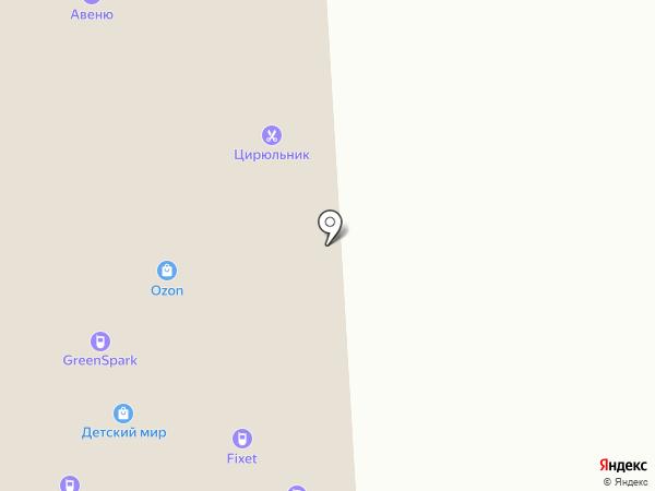 Салон связи на карте