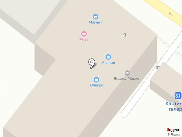 МиЛи на карте