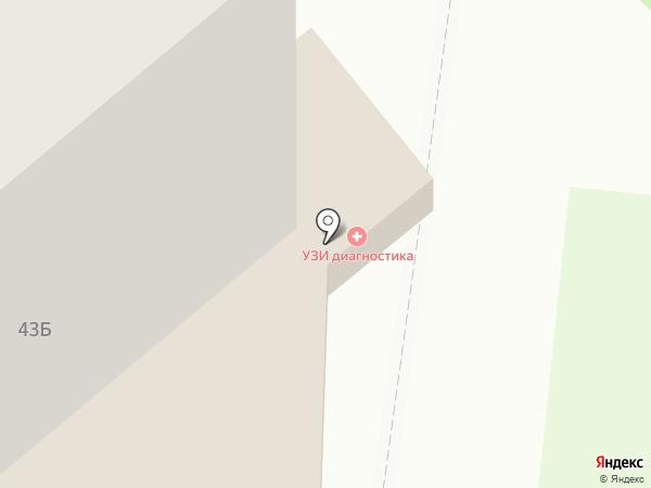 Диаклон-Юг на карте