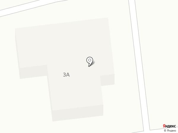 Продуктовый магазин на ул. Баженова на карте