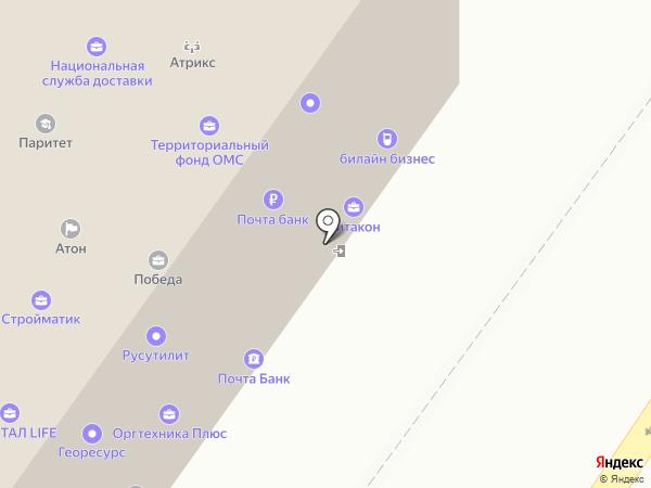 ВАШ ЮРИСТ на карте