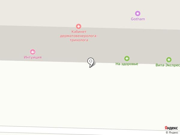 Интуиция на карте