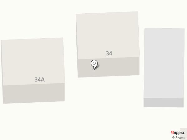Продуктовый магазин на Тепличной на карте