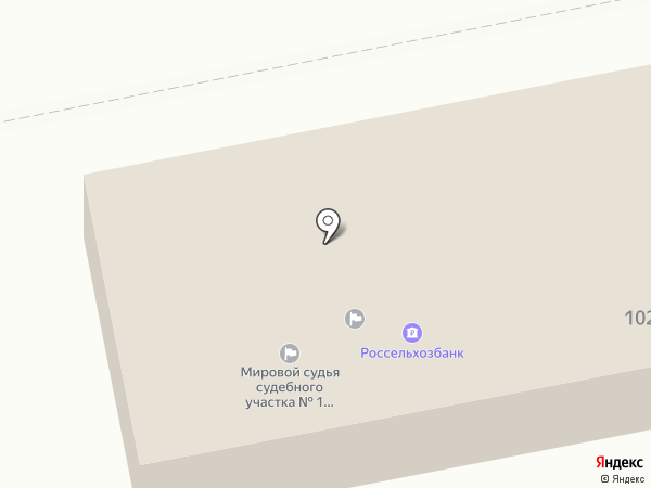 Судебный участок мирового судьи №1 Приволжского района Астраханской области на карте