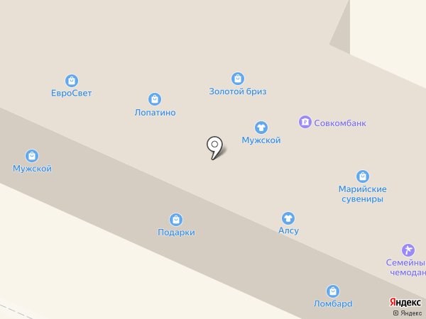 Телекоммуникационная фирма на карте