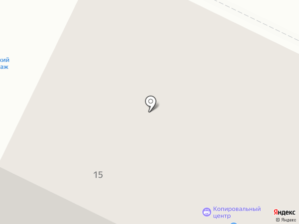 Айрон на карте