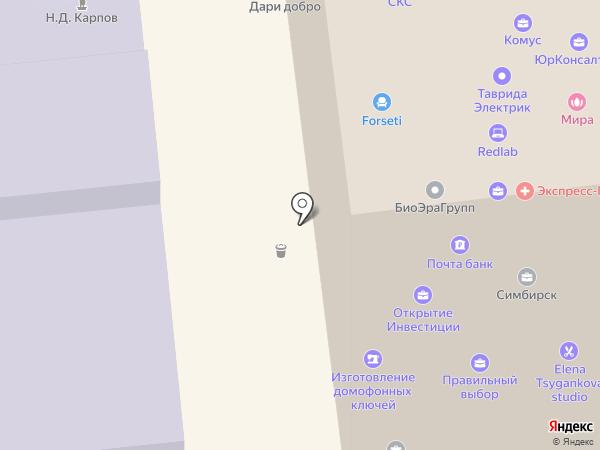 Парадиз Тур на карте