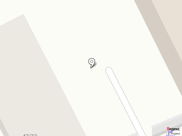 Мега на карте