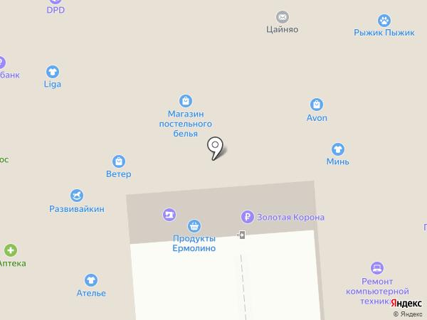 Гончарофф-Тур на карте