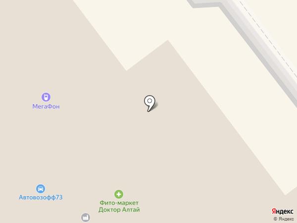 Планета Отдыха на карте