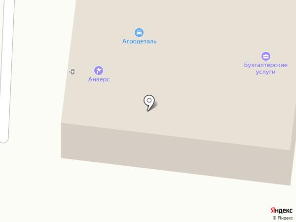 Агродеталь на карте