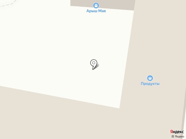 Арыш мае на карте