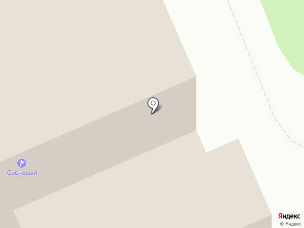 Сосновый Бор на карте
