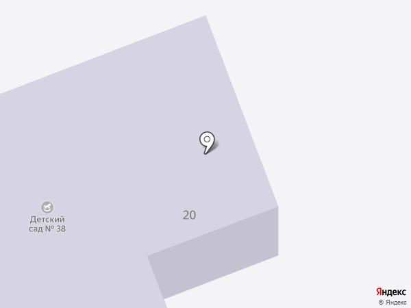 Детский сад №38 им. Н.К. Крупской на карте