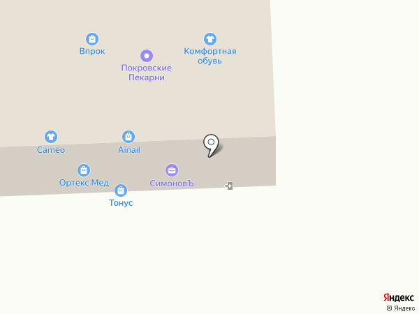 Впрок на карте