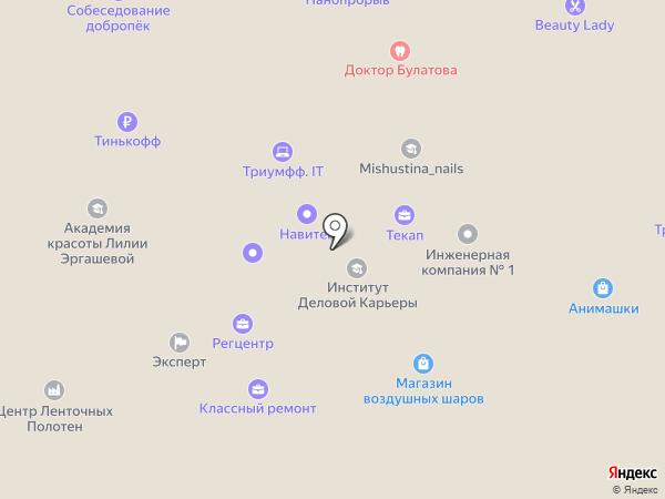 НТК на карте