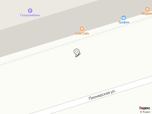 Трафик на карте