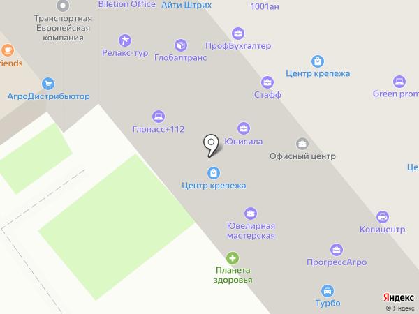 Системы автоматизации на карте