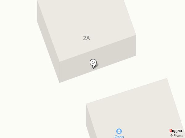 В Приморском на карте