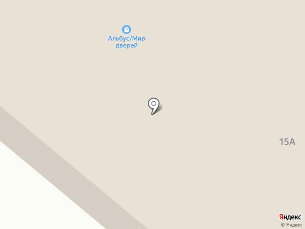 Приморский на карте
