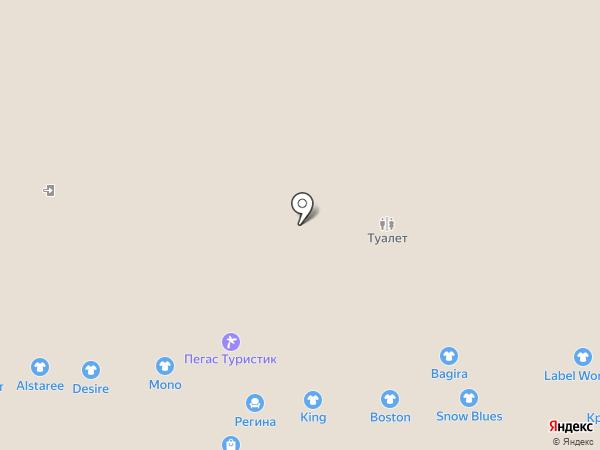 Нежен на карте