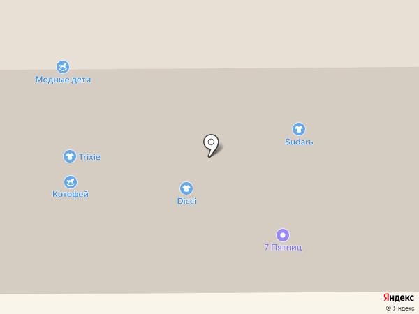 Солнце-Шуба на карте