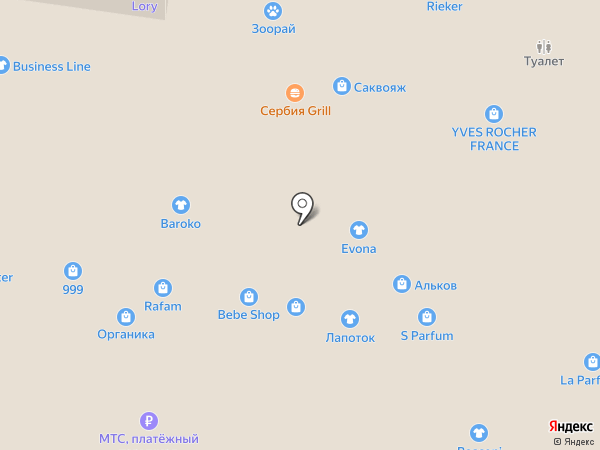 Магазин аксессуаров для мобильных телефонов на Революционной на карте